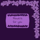 Blommor för dig Royaltyfria Bilder