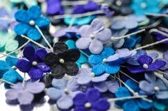 Blommor för pappers- hantverk Royaltyfria Bilder