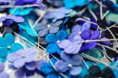 Blommor för pappers- hantverk Royaltyfria Foton