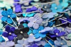 Blommor för pappers- hantverk Arkivbild