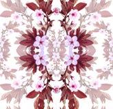 Blommor för vektormodellaprikos royaltyfri illustrationer