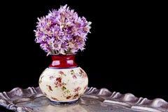 Blommor i en vase Royaltyfri Bild