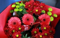 Blommor i shoppa Arkivfoto