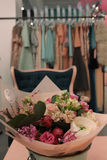 Blommor i shoppa Arkivfoton