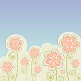 blommor i vår Arkivfoton