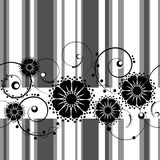 blommor mönsan seamless Arkivbild