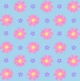 blommor mönsan seamless Royaltyfria Foton