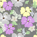 blommor mönsan seamless Arkivfoto