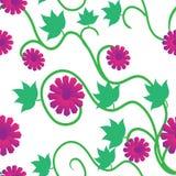 blommor mönsan seamless Arkivfoton