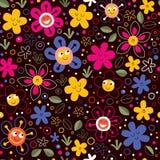 Blommor mönstrar Arkivfoton