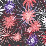 Blommor mönstrar Royaltyfri Foto
