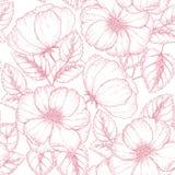 Blommor och leafs Royaltyfria Foton