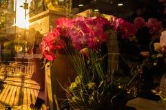 Blommor på en blomsterhandlare Royaltyfria Bilder