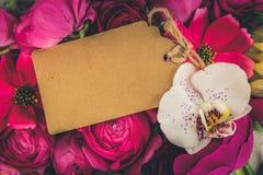 Blommor sänker lekmanna- sammansättning Arkivfoton