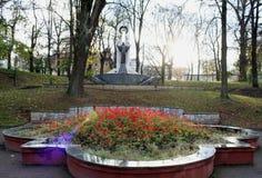 Blomning för blommor Ivano-Frankivsk Arkivfoton