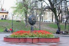 Blomning för blommor Ivano-Frankivsk Arkivbild