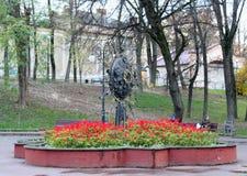 Blomning för blommor Ivano-Frankivsk Royaltyfri Fotografi