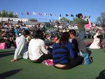 blomningCherry som tycker om festival Royaltyfri Foto