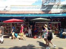 Blomsterhandel Thailand Fotografering för Bildbyråer