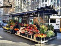 Blomsterhandeln Arkivbild