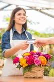 blomsterhandlare Royaltyfri Fotografi
