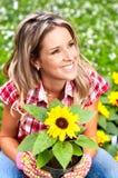 blomsterhandlare arkivfoton