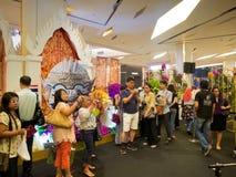 Blomsterutställningen i Thailand 2014 Fotografering för Bildbyråer