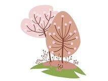 blomstra Cherry arkivfoto