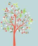 blomstra tree Arkivfoto
