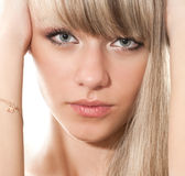 Blond Royalty Free Stock Photography