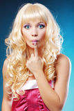 Blond Image stock