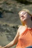 Blond Stockbild