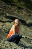 Blond Lizenzfreies Stockbild
