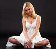 Blond. Lizenzfreie Stockbilder