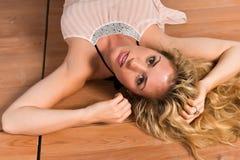 Blond Lizenzfreie Stockbilder