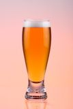 Blond. Close-up of beer glass stock images