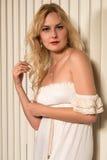 Blond Stockfotos