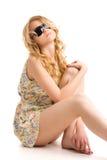 Blond Stockfoto