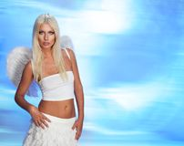 Blond angel Stock Photography