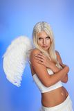Blond angel Stock Photo