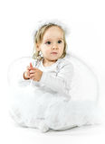 Blond angel Stock Images