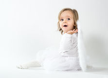 Blond angel Royalty Free Stock Images