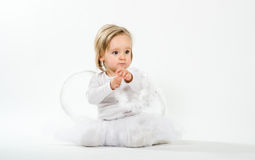 Blond angel Royalty Free Stock Photography