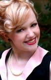 blond atrakcyjna kobieta Obraz Royalty Free