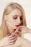 Blond beautiful woman Royalty Free Stock Image