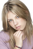 Blond beautiful woman Royalty Free Stock Photos