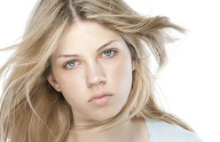 Blond beautiful woman Stock Image