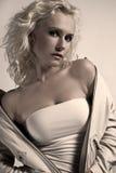 Blond Beauty Stock Photo