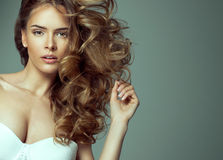 Blond beauty Stock Photo