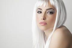 Blond beauty portrait Stock Photography